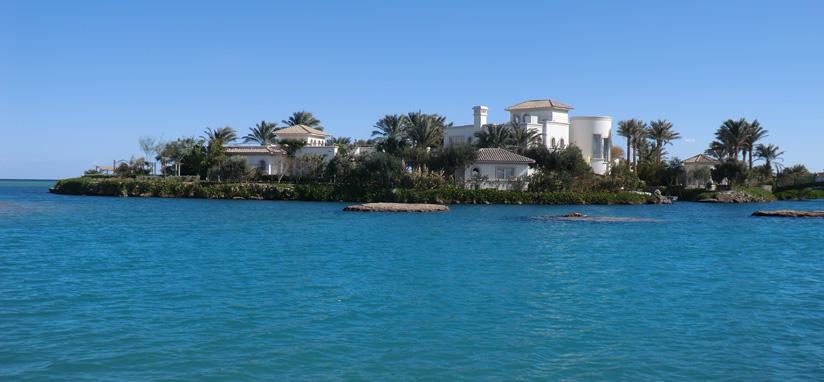 Один из частных островов