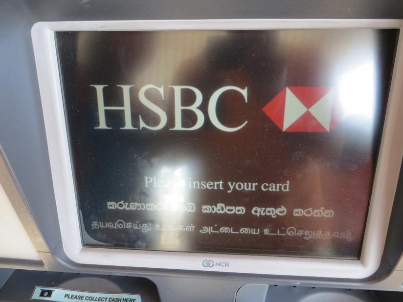 Как и где снять деньги с карты Сбербанка в Шри Ланке
