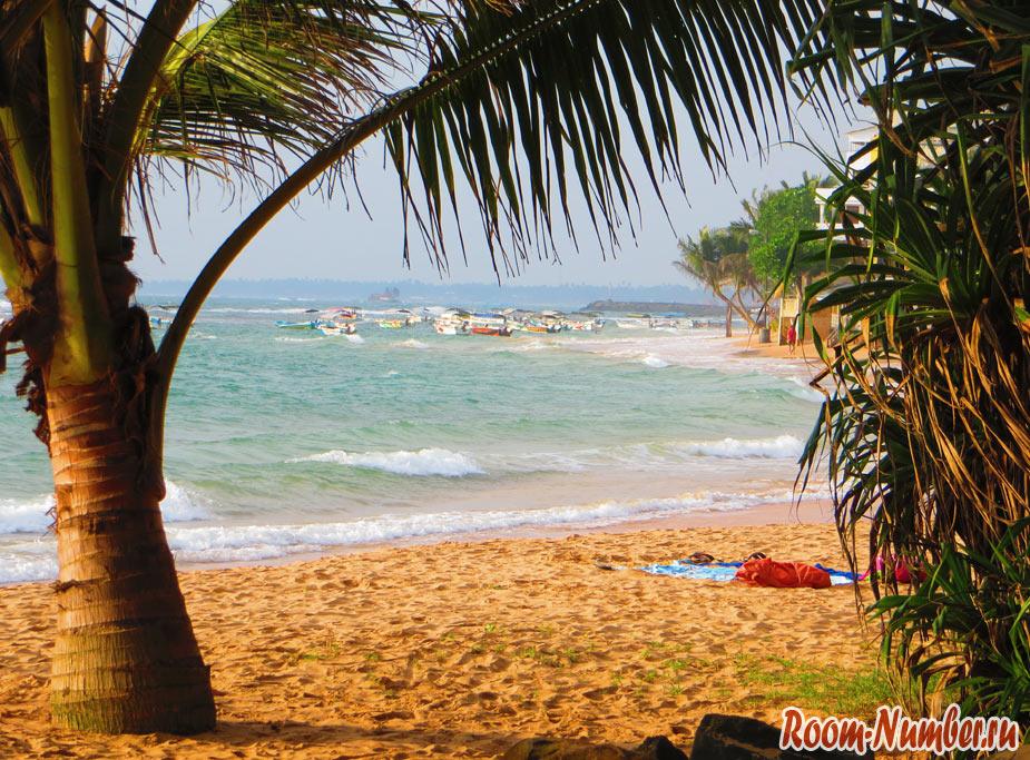 Пляж возле отеля Чая транс