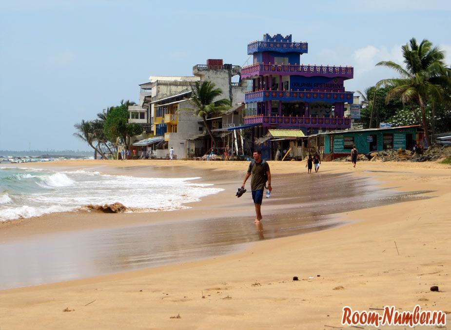 Фото пляжа в Хикке