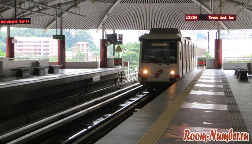 Фото метро в Куала-Лумпур
