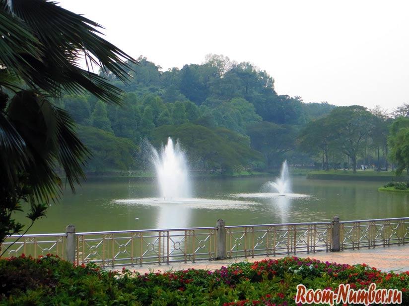 Парк Пердана в Куала Лумпур