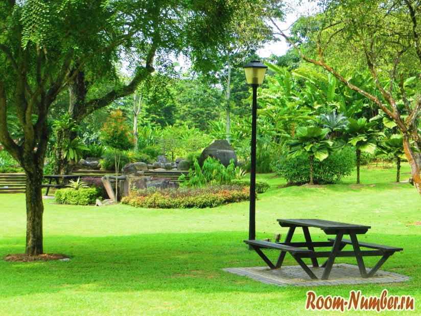Фото Куала-Лумпур, парк Пердана