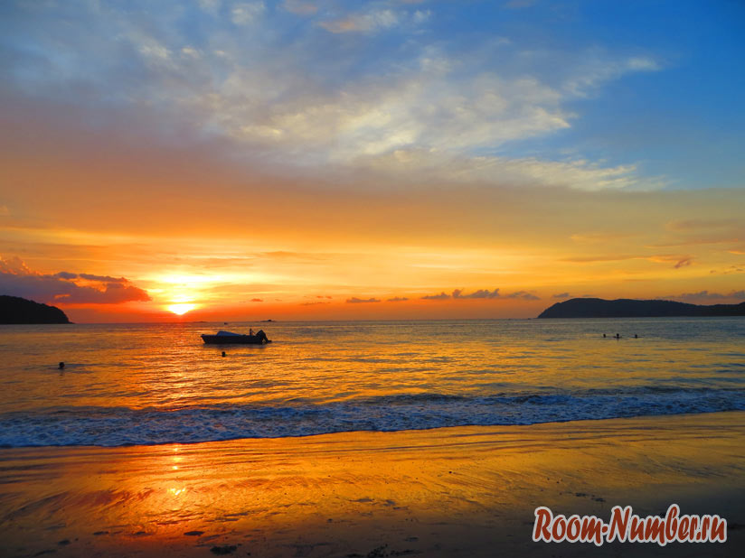 остров Лангкави, Малайзия, фотография заката