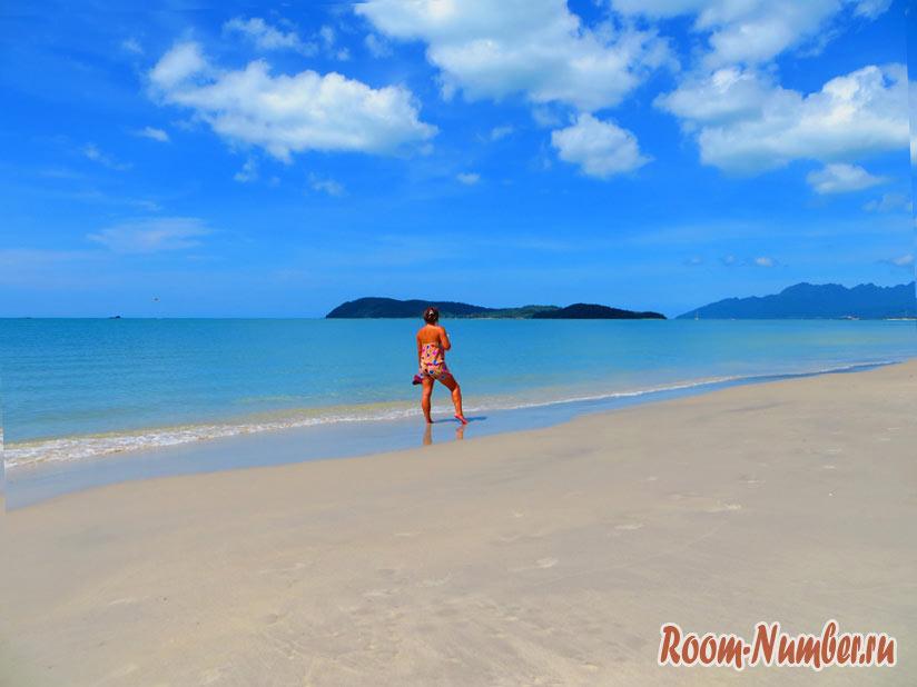 Пляж на острове Лангкави