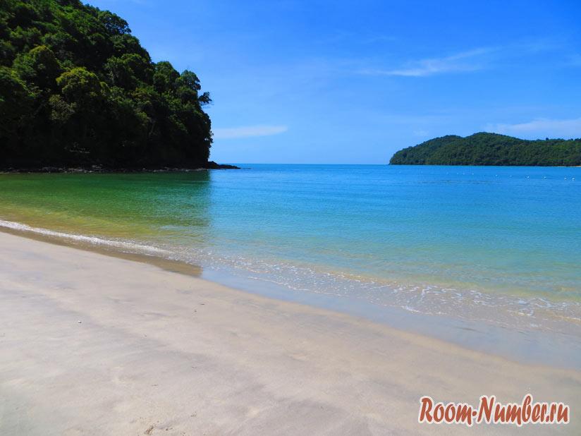 Остров Лангкави пляж