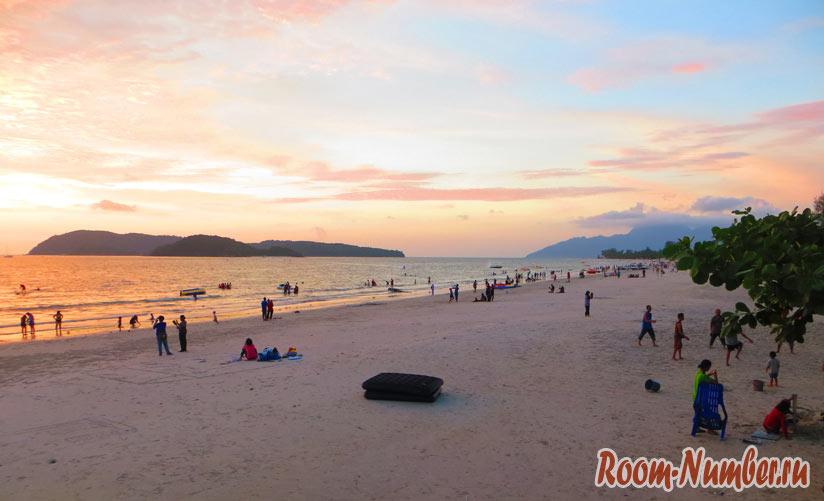 Остров Лангкави во время заката