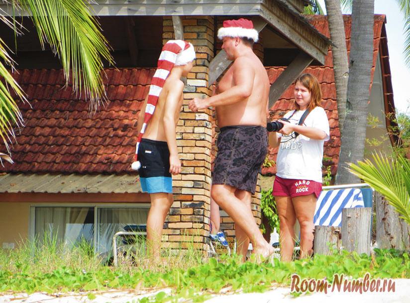 туристы в новый год на лангкави