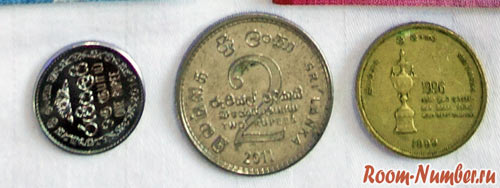 Монеты в шри ланке