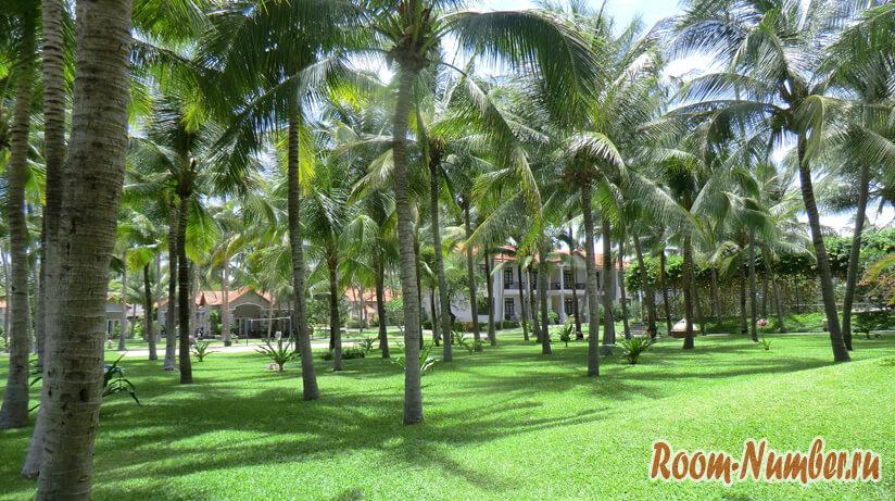 Очень зеленый, чистый и красивый отель