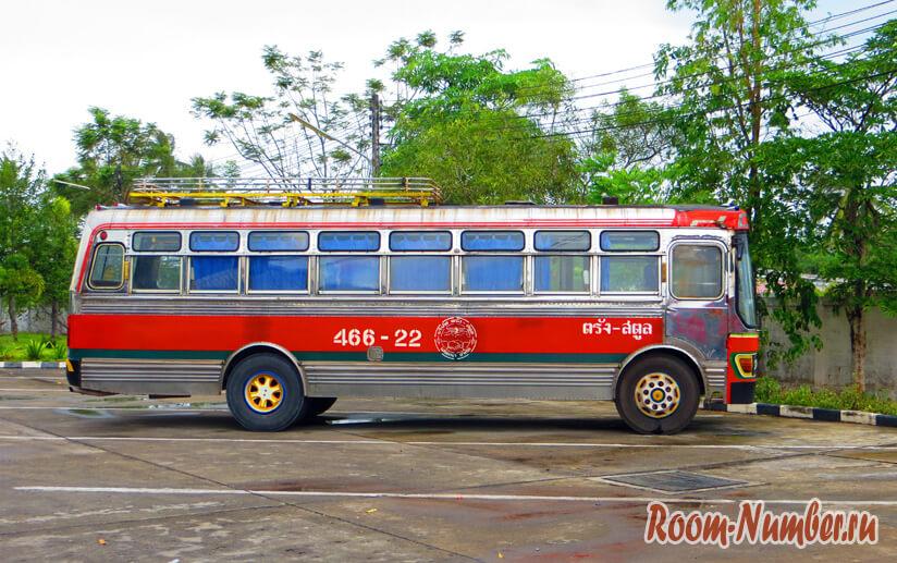 Автобус Тайланд
