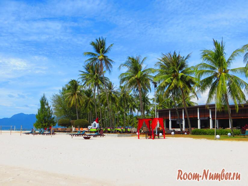 Пляж Лангкави