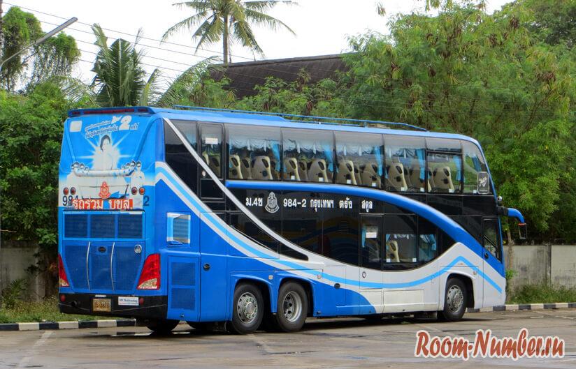 Автобус Лангкави- Бангкок