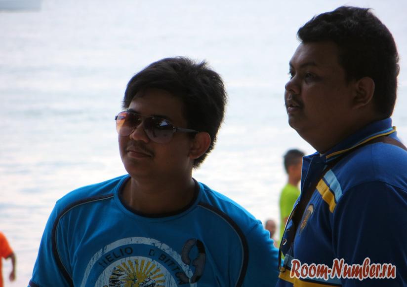 Местные малайцы