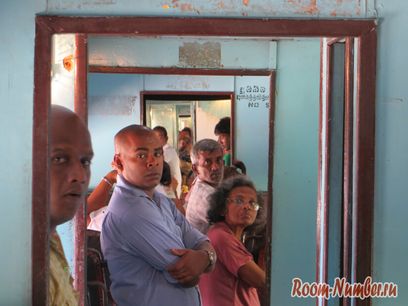 Поезд Коломбо-Канди вагон 2 класса