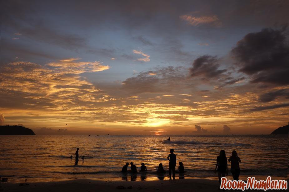 Закат на Лангкави (лучше чем в Гоа!)