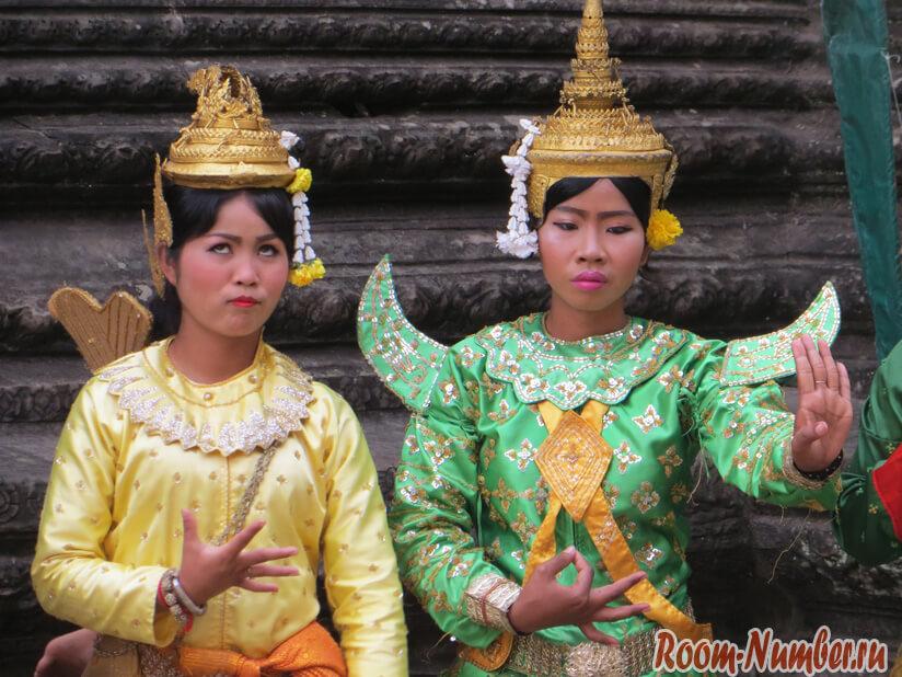 Камбоджа в лицах людей