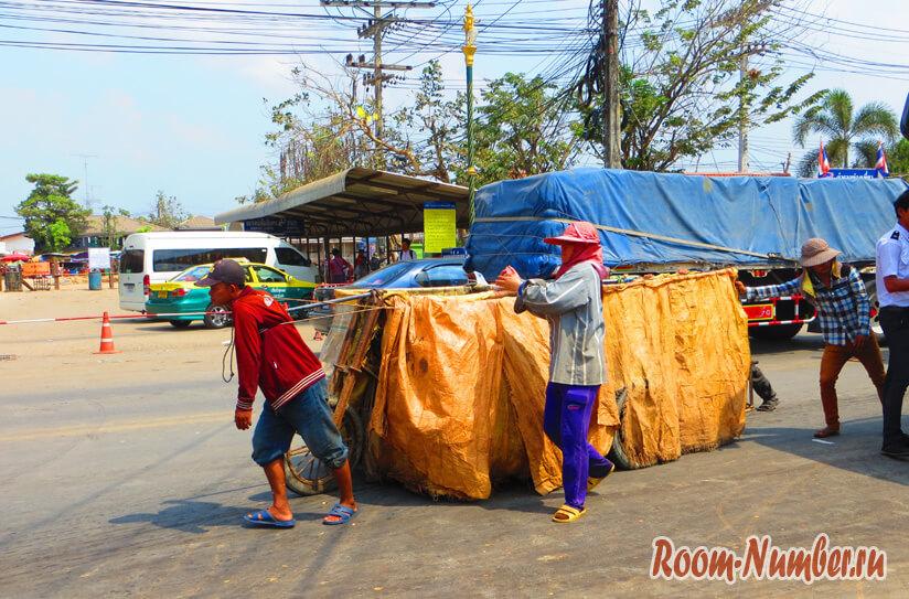 Граница Камбоджа