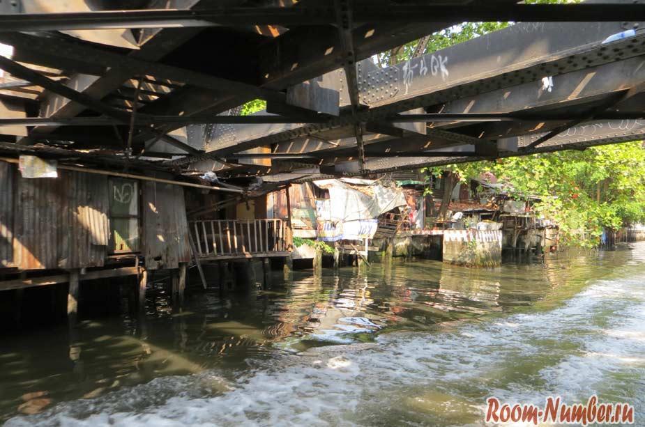 На лодке по каналам Бангкока