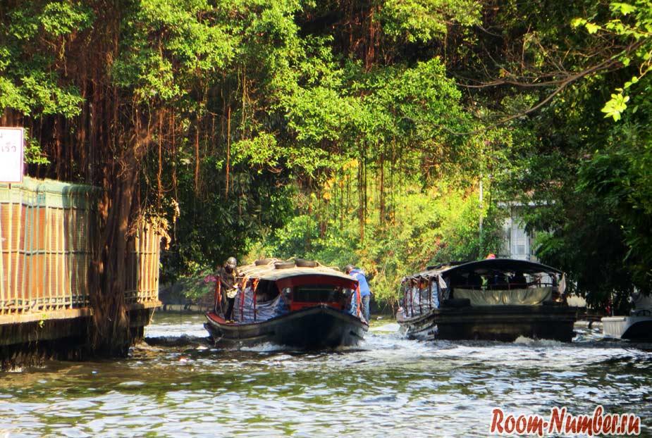 Прогулка по каналам Бангкока. Маршрут на 1 день
