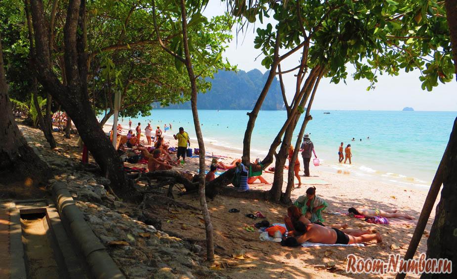 ao-nang krabi пляж