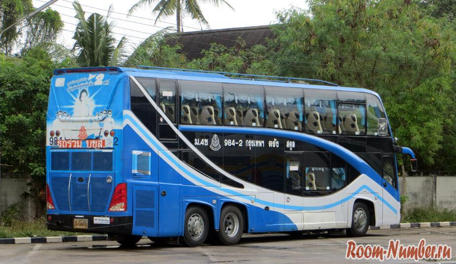 автобус в краби