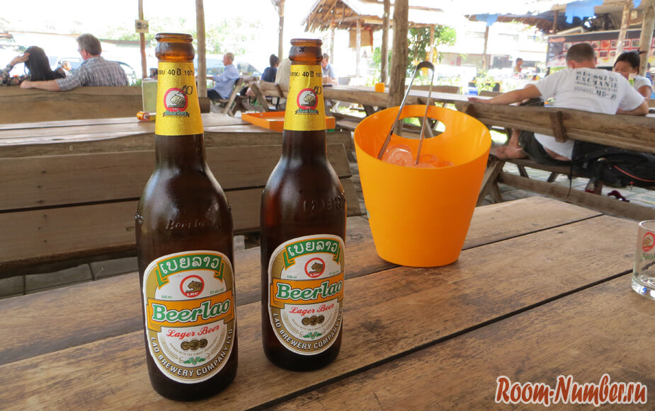 пиво в лаосе