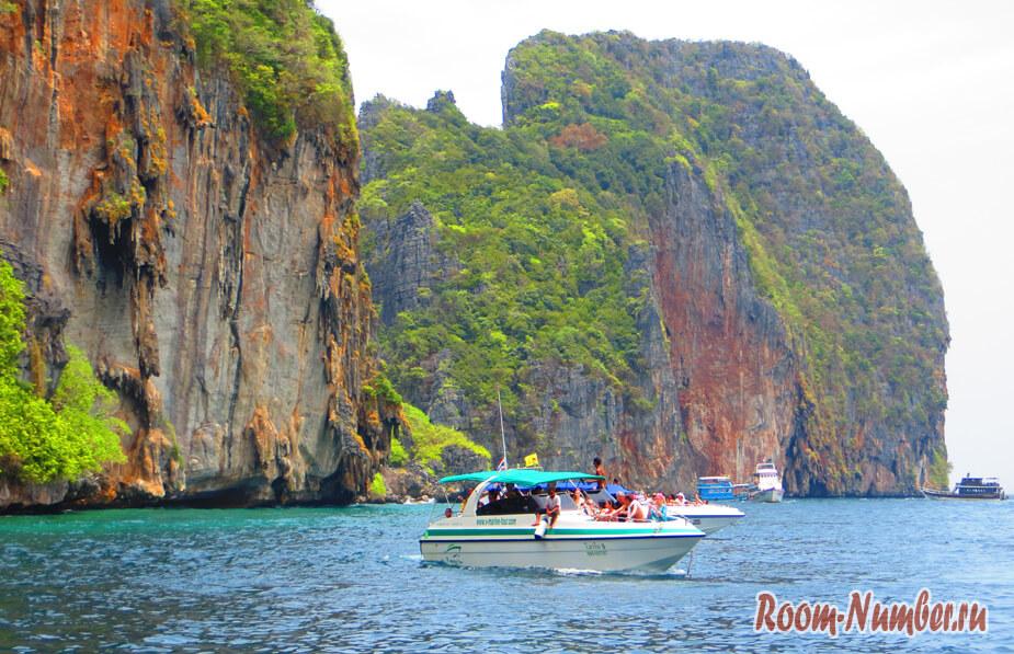 Остров Пхи-Пхи — фото и отзывы об экскурсии в бухту Майя Бэй