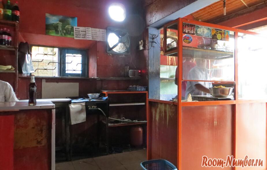 кафе в хиккадуве