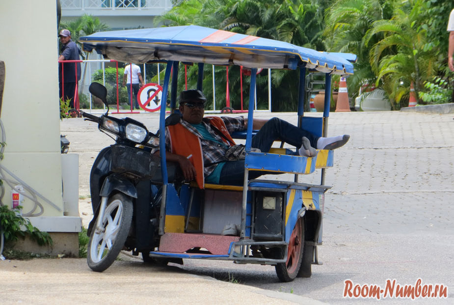 Трансферы в Краби: цены в Ао-Нанге на такси и тук-туки