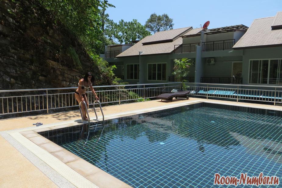 Ao Nang Mountain View Hotel Krabi - снять квартиру можно за 2 тыс бат в сутки или за 20 тыс бат в месяц