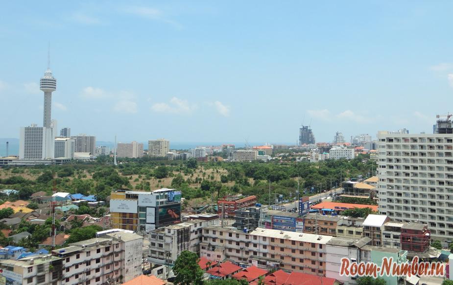 Квартира студия в кондоминиуме View Talay Pattaya