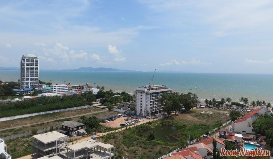 Стоимость аренды квартиры в кондо jomtien paradise начинается от 9 тыс батов