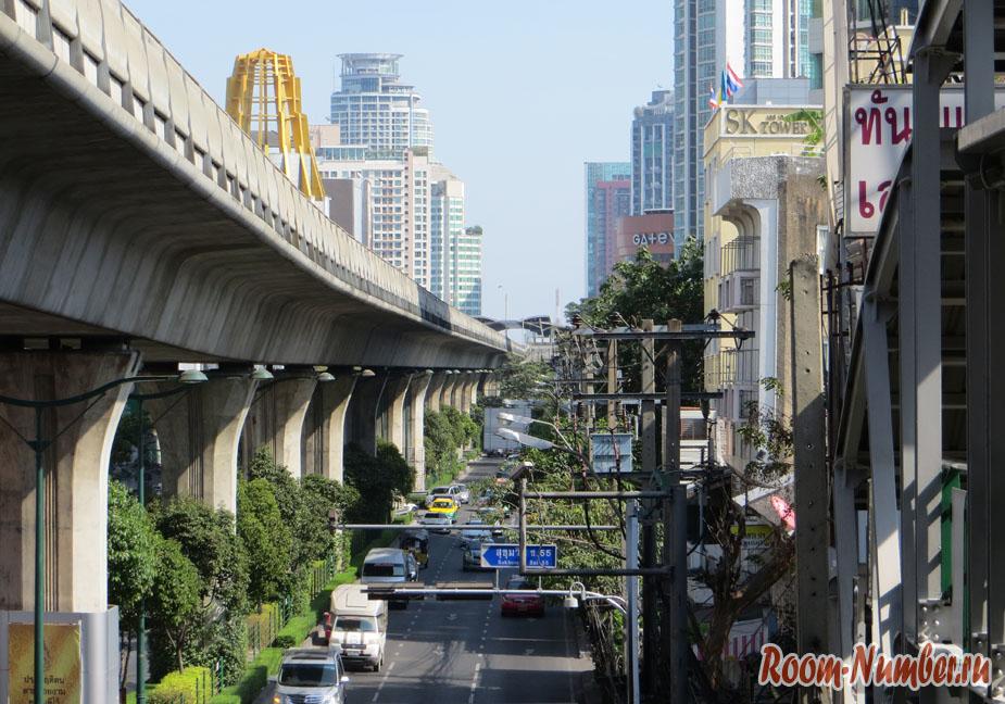 Метромост в Бангкоке
