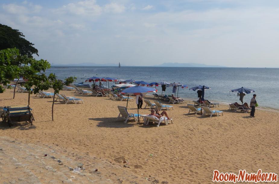 пратамнак бич пляж в паттайе