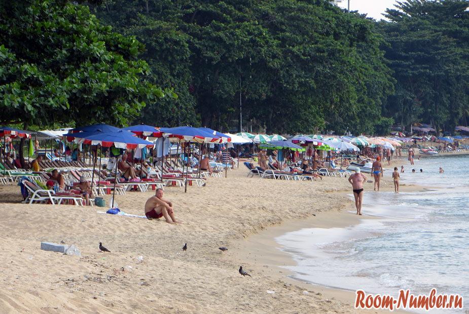 пляжный отдых на пратамнаке