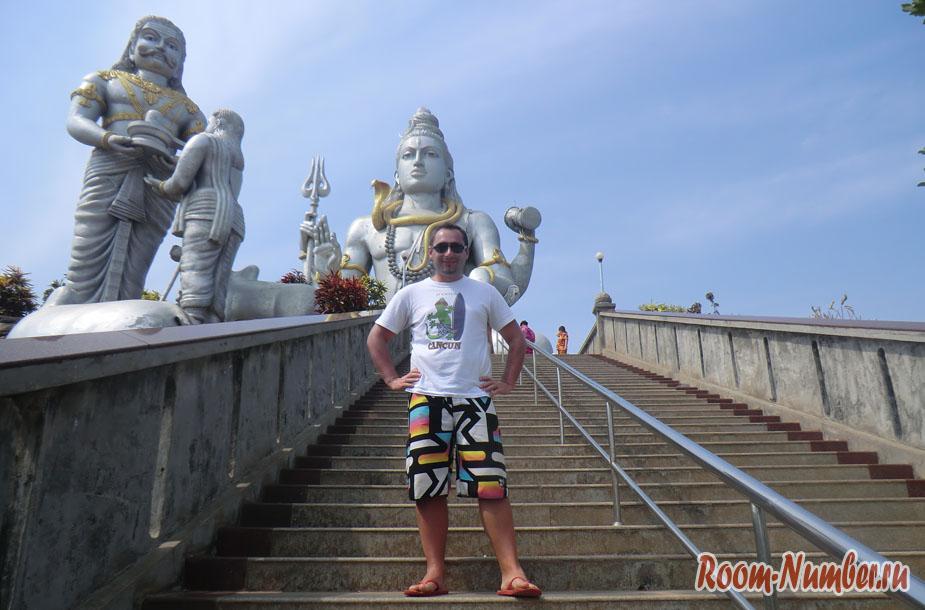 Мурдешвар, статуя Шивы