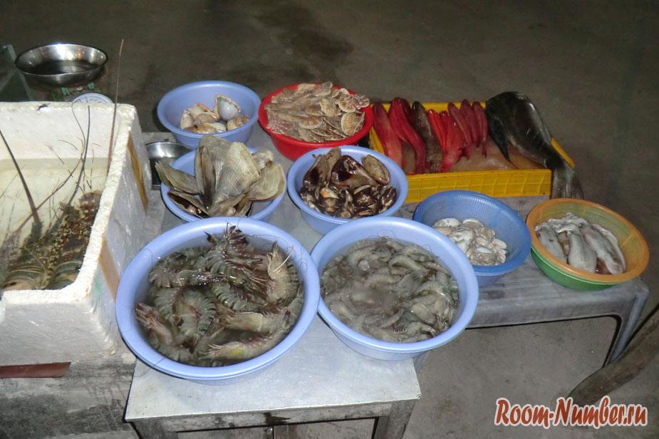 Питание на Фантьете: только для любителей морепродуктов