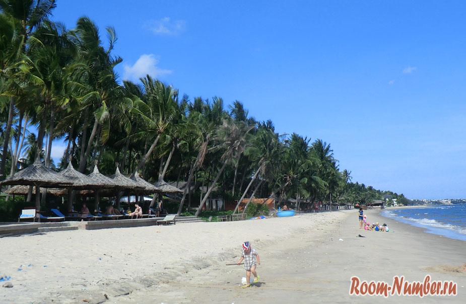пляж Mui Ne на фото смотрится хорошо