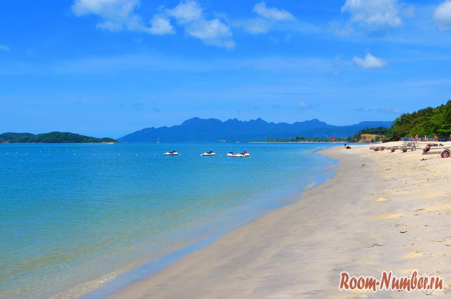 Пляж Пантай Тенгах на острове Лангкави