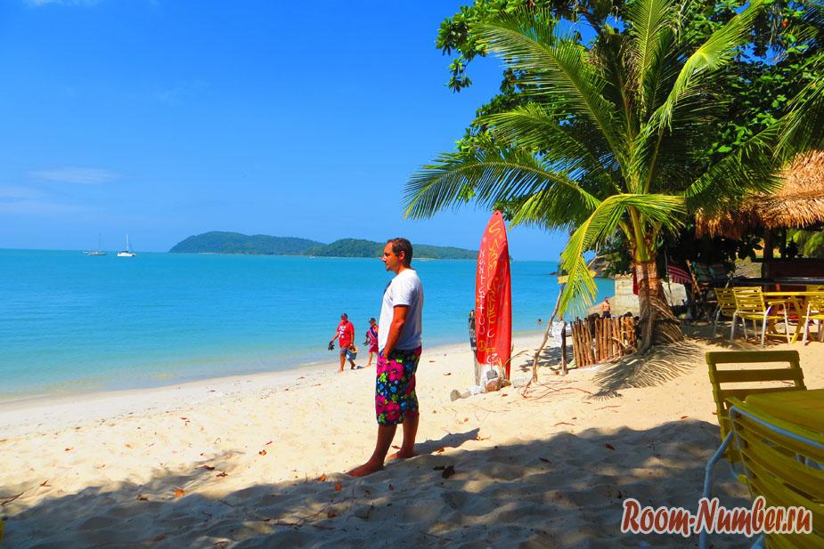 Пляж Пантай Тенгах, как альтернатива Пантай Ченанг на Лангкави