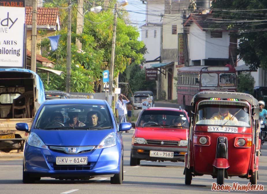 Аренда машины на Шри Ланке