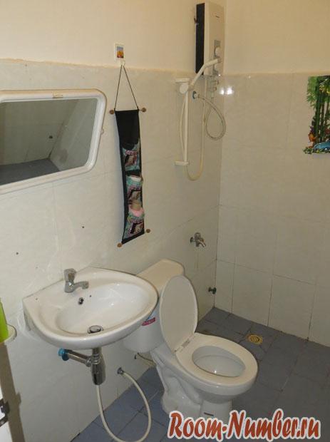 туалет в гесте
