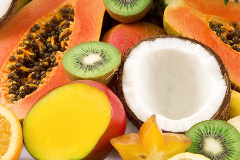 фрукты на Гоа