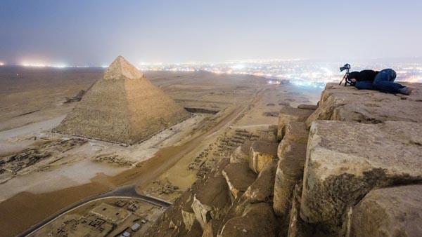 на пирамиде