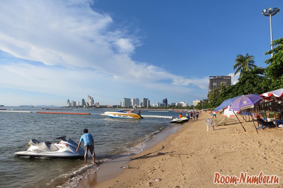 Паттайя, центральный городской пляж