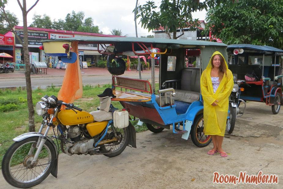 Камбоджа, сезон дождей в Сиануквиле