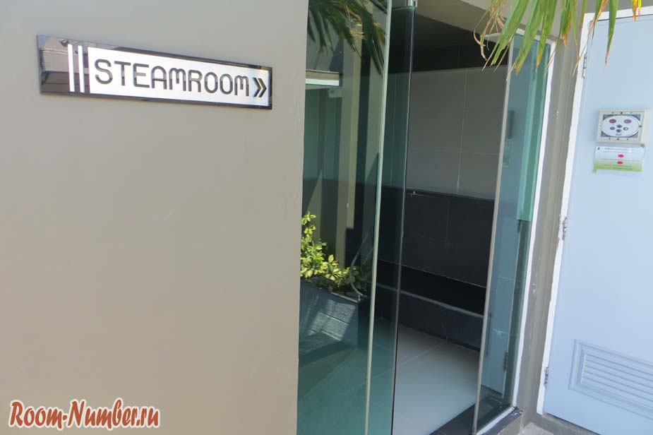 Steam room Gallery Condominium