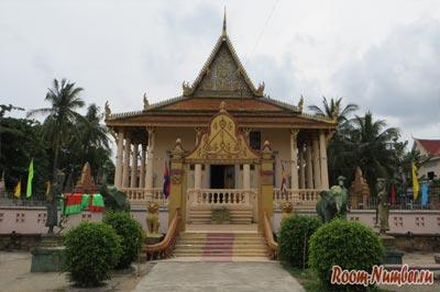 Камбоджийский храм без названия