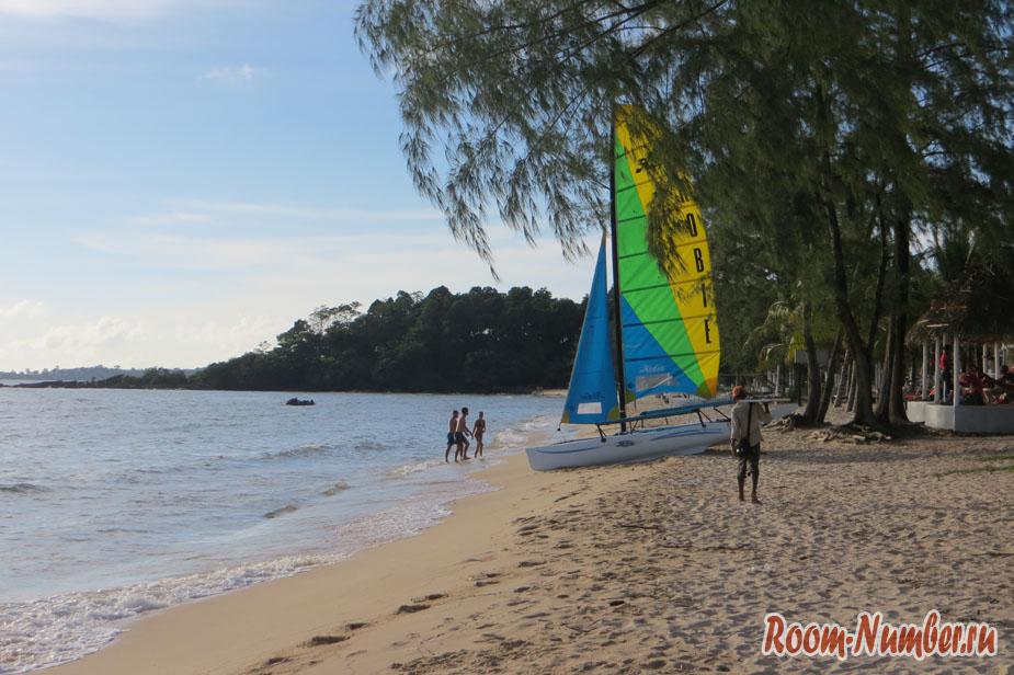 камбоджа пляж отрес сиануквиль